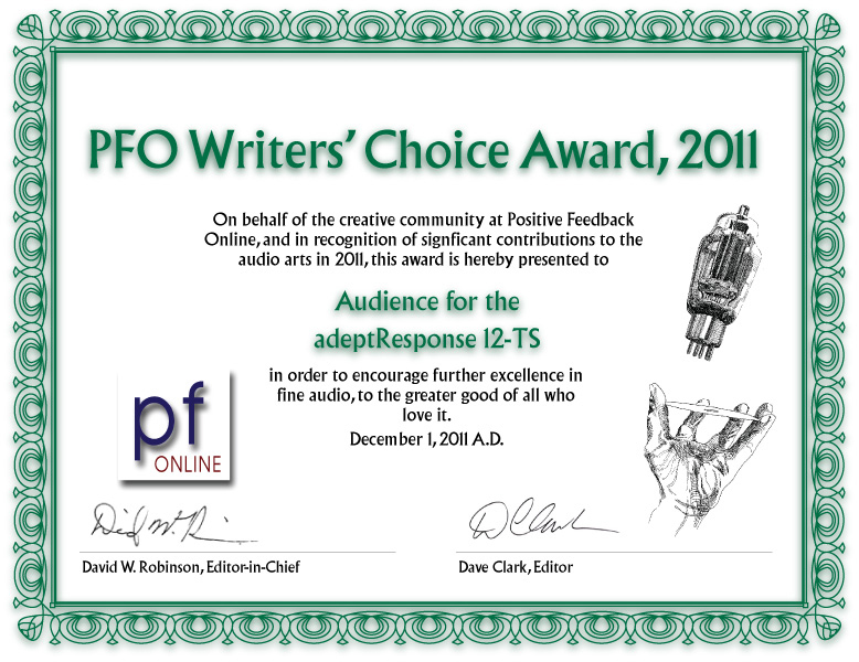 PFO Award for Ar12-TS